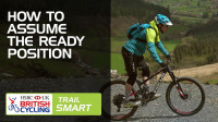 How to assume the 'ready' position when mountain biking - Trail Smart