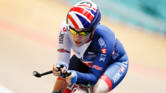 British Cycling's Megan Giglia