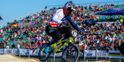 Whyte makes BMX Supercross World Cup final in Argentina