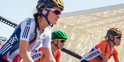 Lizzie Deignan sprints to fourth place at UCI Road World Championships