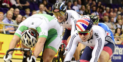 Olympic gold medallist Phil Hindes back in action