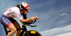 Khan withdraws from the Tissot UCI Track Cycling World Cup
