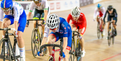 World cup scratch bronze for Barker