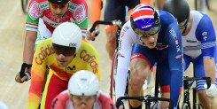 Brilliant bronze for Latham at UCI Track Cycling World Championships
