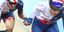 Madison silver for Britain's Barker and Nelson at UCI Track Cycling World Championships