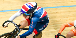 Sprint silver for Lauren Bate at the UCI Junior Track Cycling World Championships