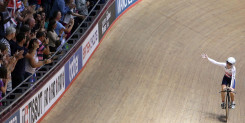 Looking back on the 2013 UCI Track Cycling World Cup in Manchester