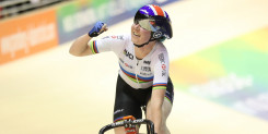 Archibald defends omnium crown for second gold at European track championships