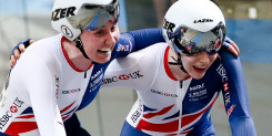 Great Britain's Archibald and Nelson shine to win Madison gold as Carlin wins silver at track worlds