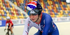 Silver double opens British account at Track World Cup