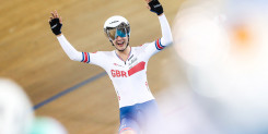 Barker looking to add to London memories at Tissot UCI Track Cycling World Cup