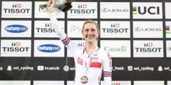 Laura Kenny happy to 're-learn' omnium ahead of Tokyo