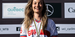 Tahnee Seagrave wins downhill silver at 2019 UCI Mountain Bike World Championships