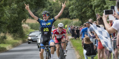 Pidcock wins in Junior Road Race Series