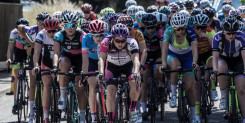 Tulett and Sharpe take national titles in sweltering road conditions