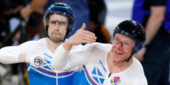 Tandem duos top the podiums on opening day of Commonwealth Games track cycling
