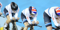 Team pursuit quartet secure opening gold of Track World Cup season