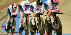 Two silvers for Great Britain in the men's and women's team pursuit