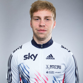 Philip Hindes cycling