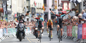 Stewart sprints to win Grand Prix of Wales