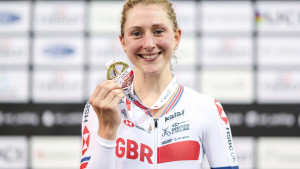 Laura Kenny Planning Triple Event Rehearsal at European Championships