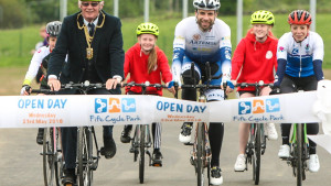 Fife Cycle Park Launch: Scotland's first cycle circuit opens in Fife!