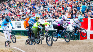 Isidore impresses in BMX Supercross World Cup flurry