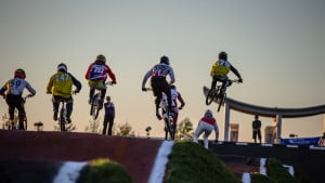 UCI BMX Supercross World Cup: Evans and Whyte miss out in quarter-finals