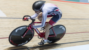 Revolution Series: Danni Khan makes superb start for Great Britain Cycling Team in round one