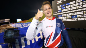 Britain's Bethany Shriever crowned junior women's BMX world champion