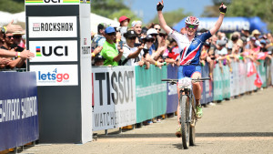 Britain's Last makes history with silver at UCI Mountain Bike World Championships