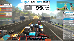 Try a group workout on Zwift