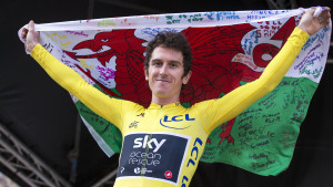 Geraint Thomas crowned as the BBC Cymru Wales Sports Personality of the Year