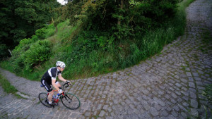 Riding the cobbles