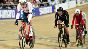 Hayter wins bronze in omnium on day four of world championships