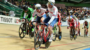 Seventh in madison for duo Hayter and Wood at world championships