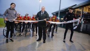 An exciting time for West Wales as The Carmarthen Velodrome officially re-opens