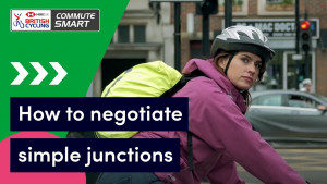 How to negotiate simple junctions when cycling - Commute Smart