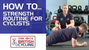 Strength exercises for cyclists