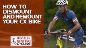 How to dismount and remount your cyclo-cross bike