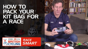 How to pack your kit bag for a race - Race Smart