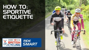 How to: guide to sportive etiquette - Ridesmart