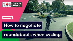 How to negotiate roundabouts when cycling - Commute Smart