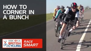 How to corner in a bunch - Race Smart