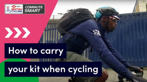 How to pack and carry your kit when cycling to work - Commute Smart
