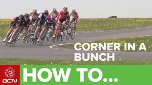 How to corner in a bunch - Racesmart