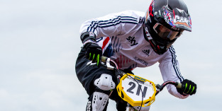 Wins for Evans and Sharrock at UEC BMX European Cup