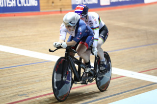 Sophie Thornhill and Helen Scott secure Great Britain's second gold of the night.