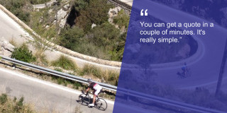 Get a quote in minutes British Cycling travel insurance