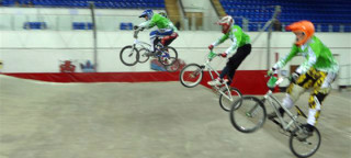 BMX team time-trial